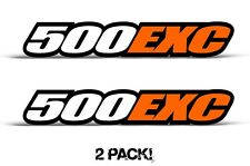 AMR Racing KTM 500 EXC Swingarm Graphic Kit Number Plate Decal Sticker Part