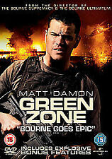 Green Zone [DVD], VGC, Matt Damon, Greg Kinnear, Amy Ryan, FREE UK POSTAGE
