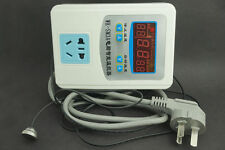 DIGITAL ELECTRONIC ROOM THERMOSTAT Electric Heating Greenhouse Hydroponic 240V