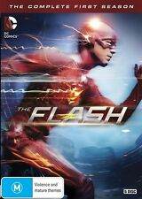 The Flash : Season 1 (DVD, 2015, 5-Disc Set) Region 4 (GENUINE BEWARE OF FAKE)