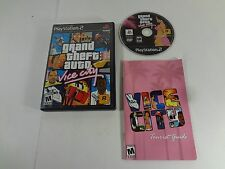 Grand Theft Auto Vice City PlayStation 2 PS2 **TESTED & WORKING**