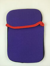 "FUNDA DE NEOPRENO 6"" PULGADAS PARA TABLET EBOOK COLOR MORADO"
