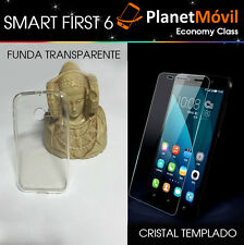 COVER TRANSPARENT + PROTECTOR glass TEMPERED glass VODAFONE SMART FIRST 6