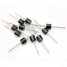 10X 6cm 1000 Volt 10A Axial Gleichrichterdiode Diode Silikon Dioden Neuware