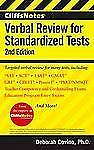 Verbal Review for Standardized Tests by Deborah Covino and William A. Covino...