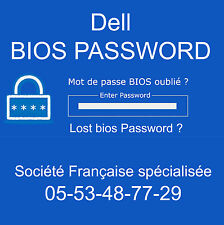 UNLOCK SUPERVISOR BIOS PASSWORD for Dell Latitude C400 PP03L