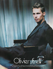 Publicité 2000  Olivier Strelli vetement collection mode pret à porter ...