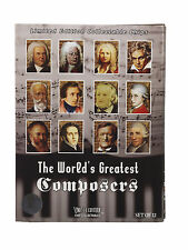 GREATEST COMPOSERS  LIMITED EDITION SET 12 POKER CHIPS