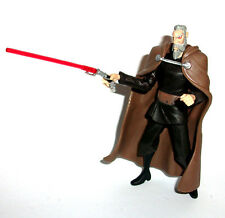 "STAR WARS Clone Wars COUNT DOOKU 3.75"" figure RARE!"