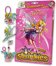 MANGA FAIRIES FATA Abbellimenti SHRINKLES SHRINKIE SHRINK ART PARAURTI BOX SET