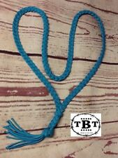 Neck Rope Bridles Riding Horse Tack, Turquoise Horse Tack