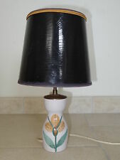 ancienne lampe céramique LE GRAND CHENE ceramic lamp NAUMOVITCH 1950 VALLAURIS