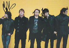THE CHARLATANS Signed 12x8 Photo TIM BURGESS & MARK COLLINS COA