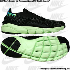 "NIKE Men's Sneaker ""Air Footscape Woven MTN City QS Shanghai""(12)Black/PinkPow"