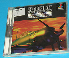 Zero Pilot - Fighter Of Silver Wing - Sony Playstation - PS1 PSX - JAP Japan