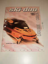 SKIDOO 1997 PARTS CATALOG MANUAL SKANDIC WIDE TRACK