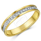 9ct Yellow Gold Channel Set 1/4 Carat Diamond Eternity Ring  ''SALE''