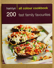 200 Fast Family Favourites by Emma Jane Frost VG Qld  Qikpost B