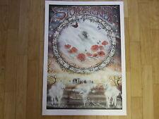 Peter Pracownik Rare 1990's Poster - Magic of the Stones. Fantasy Art