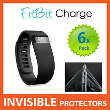Fitbit CHARGE HR Screen Protector Shields - Military Grade Quality - PACK OF X6