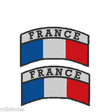 INSIGNE MILITAIRE DRAPEAU PARA ECUSSON FRANCE AIRSOFT PATCH armée de l'air