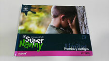 EL MANUAL DE SUPER NANNY PREMIOS Y CASTIGOS VOLUMEN 7 LIBRO + DVD SERIE TV