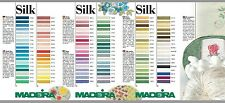 Madeira Silk Embroidery Floss 5metres in spiral pack