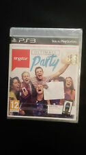 SINGSTAR ULTIMATE PARTY  VERSIONE UFFICIALE ITALIANA PS3 SIGILLATO