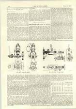 1914 Swedish And Danish Oil Engines Hexa
