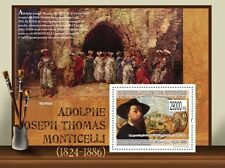 Paintings of Adolphe Monticelli painting s/s Guinea 2009 Mi Bl.1755 MNH #GU0998b