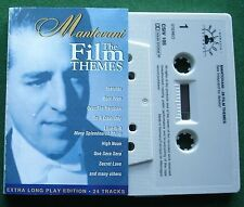Mantovani Film Themes inc Born Free & Exodus + Long Play Cassette Tape - TESTED