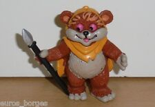 Vintage Star Wars EWOKS & DROIDS WICKET PVC cartoon figure Comics Spain 1986 LFL