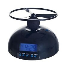 Battery Operated Flying Propeller Blade Alarm Clock Battery Operated