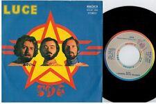 I SIGNORI DELLA GALASSIA Luce 45rpm 7' + PS 1980 ITALY EX+ Rare It Prog