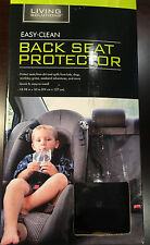 Living Solutions Easy Clean Back Seat Protector NEW in Box
