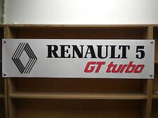 Renault 5 GT Turbo taller PVC Banner,