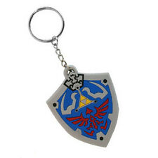 The Legend of Zelda: Twilight Princess Hylian shield rubber keyring keychain