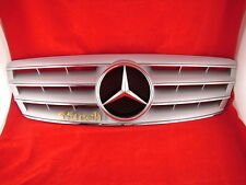 Mercedes Benz W203 Grill C230 C320 C240 Grille Silve 4 fins - CLEARANCE SALE NOW