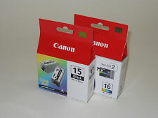 Genuine Canon BCI-15BK BCI-16 black color ink iP90 iP90v i80 i70 BCI15BK 15 16
