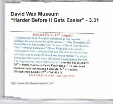 (DX798) David Wax Museum, Harder Before It Gets Easier - DJ CD