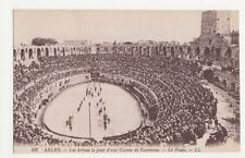 France, Arles, Les Arenes le jour d'une Course de Taureaux LL 102 Postcard, B115