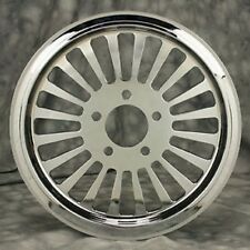 """FAT SPOKE 65T TOOTH CHROME PULLEY 1.5"""" WIDE HARLEY SOFTAIL FXST FLST HERITAGE"""