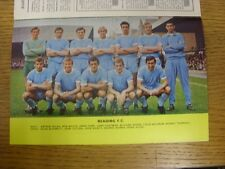 1967/1968 Football League Review: Vol 2 No 31 - Colour Picture - Reading [Park D