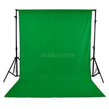 5 x 10FT Photography Studio Non-woven Backdrop Background Screen Green UK T6C5