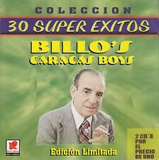 Billos Caracas Boys 30 Super Exitos Coleccion 2CD No plastic cover