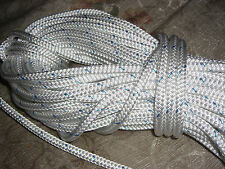 """190' ft 1/4"""" in Stable Braid Double Braid Bull Rope Synthetic Line"""