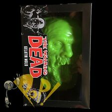 "The WALKING DEAD Silicone GELATIN Mold ZOMBIE Head 9"" JELLO Diamond SELECT Toys!"