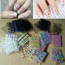 50 sheets 3D design nail art tattoo flower decal sticker for nails