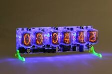 Nixie Clock IN-12  russian Six Digit Tubes Tube Clock with remote RGB-Leds