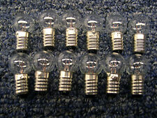 12 Large 18v Bulbs American Flyer Trains/Accessories